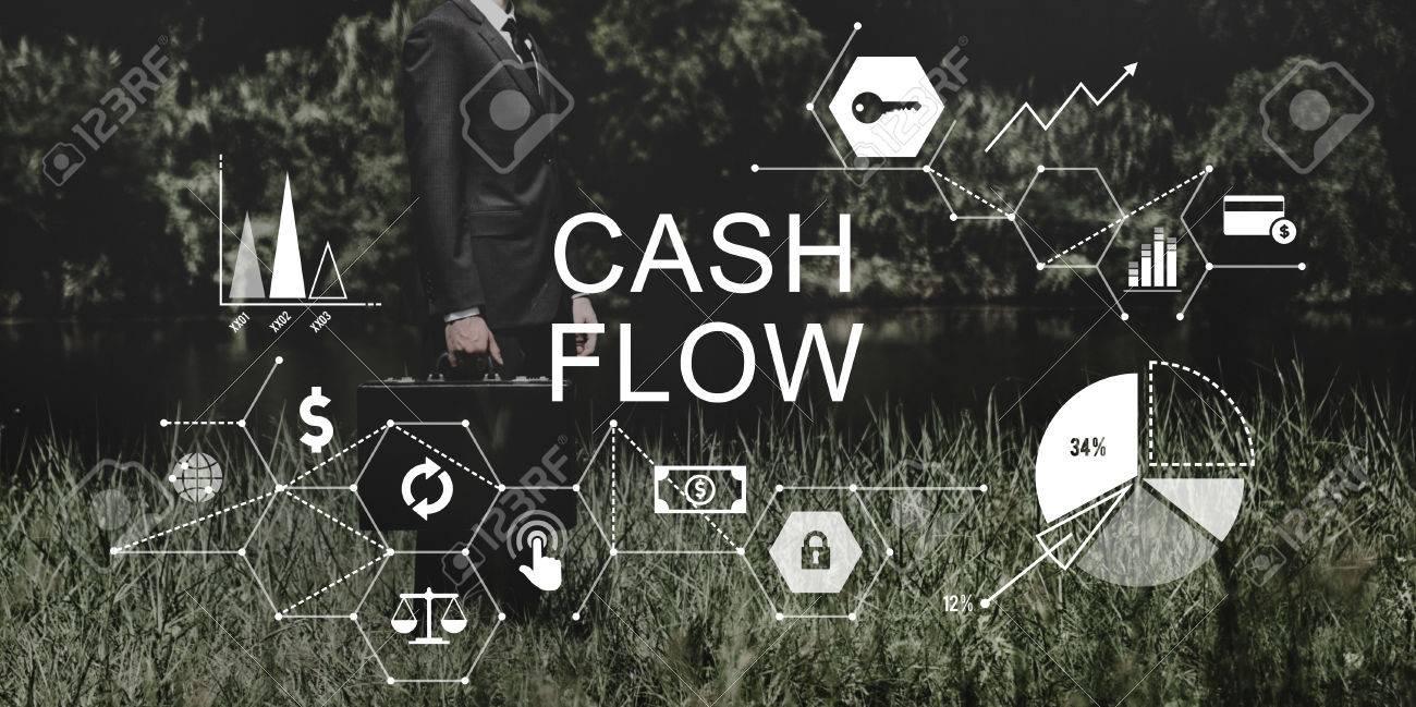 cash flow finance economy revenue funds investment concept stock