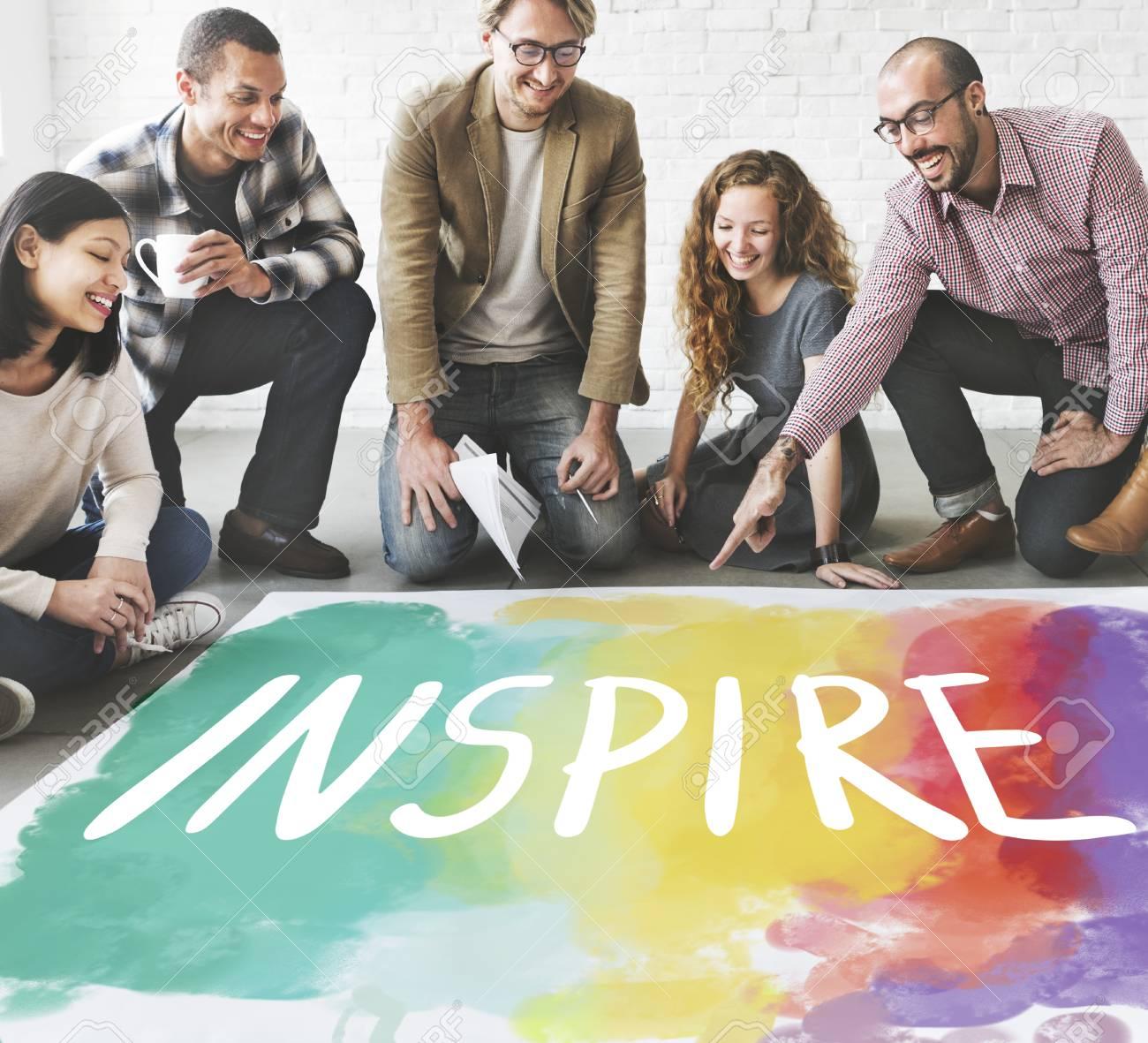 Desire Inspire Goals Follow Your Dreams Concept - 57954157