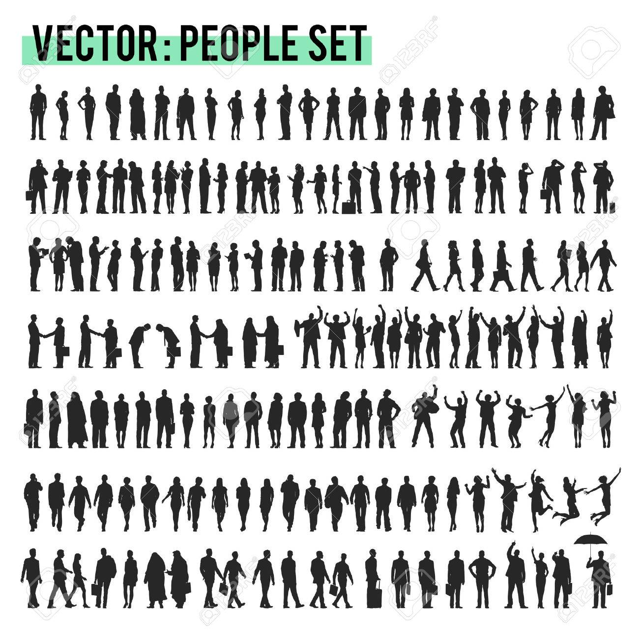 Vector Business People Corporate Company Concept - 57620530