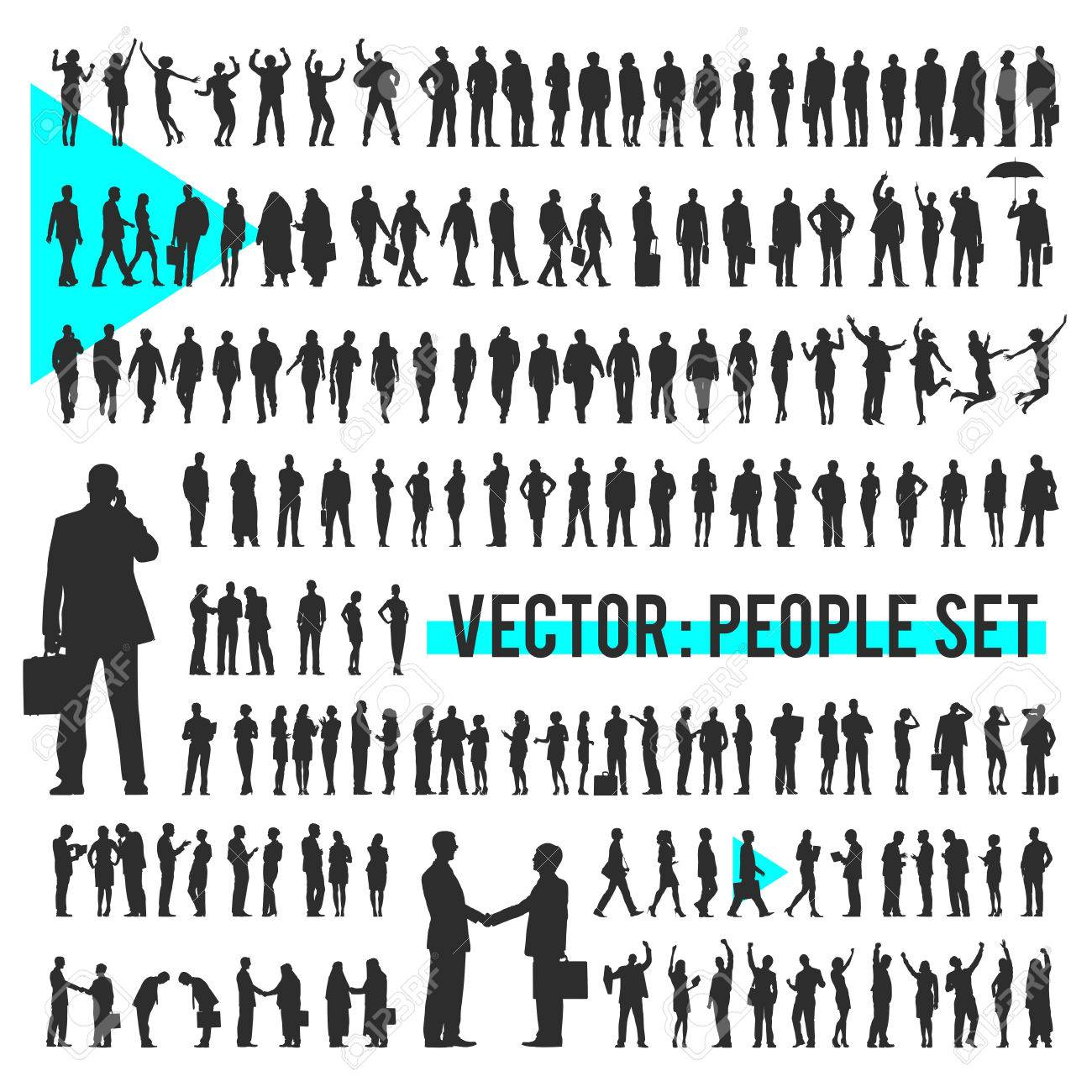 Vector Business People Corporate Company Concept - 57620526
