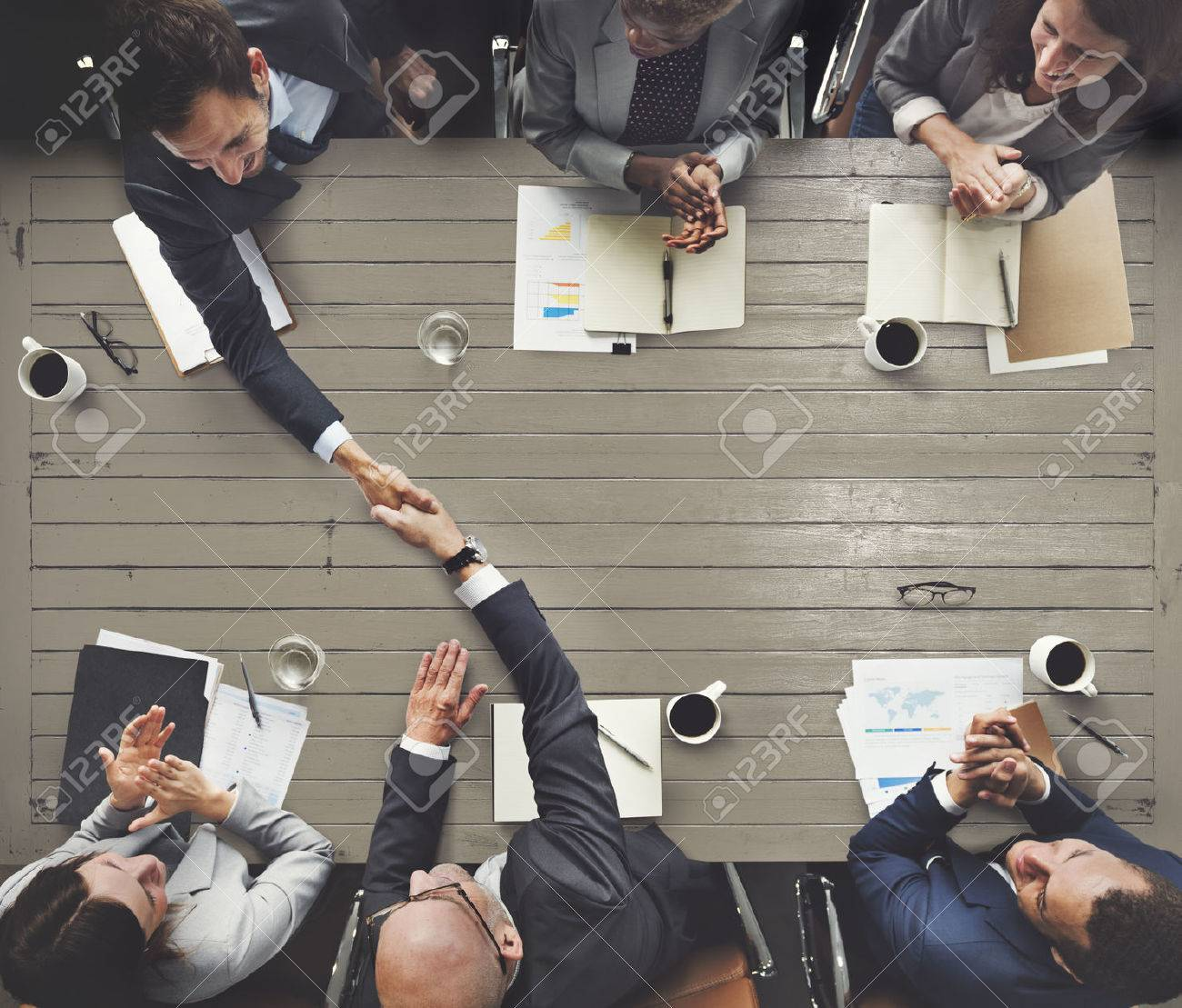 Business Meeting Team Brainstorming Corporate Concept - 57798799