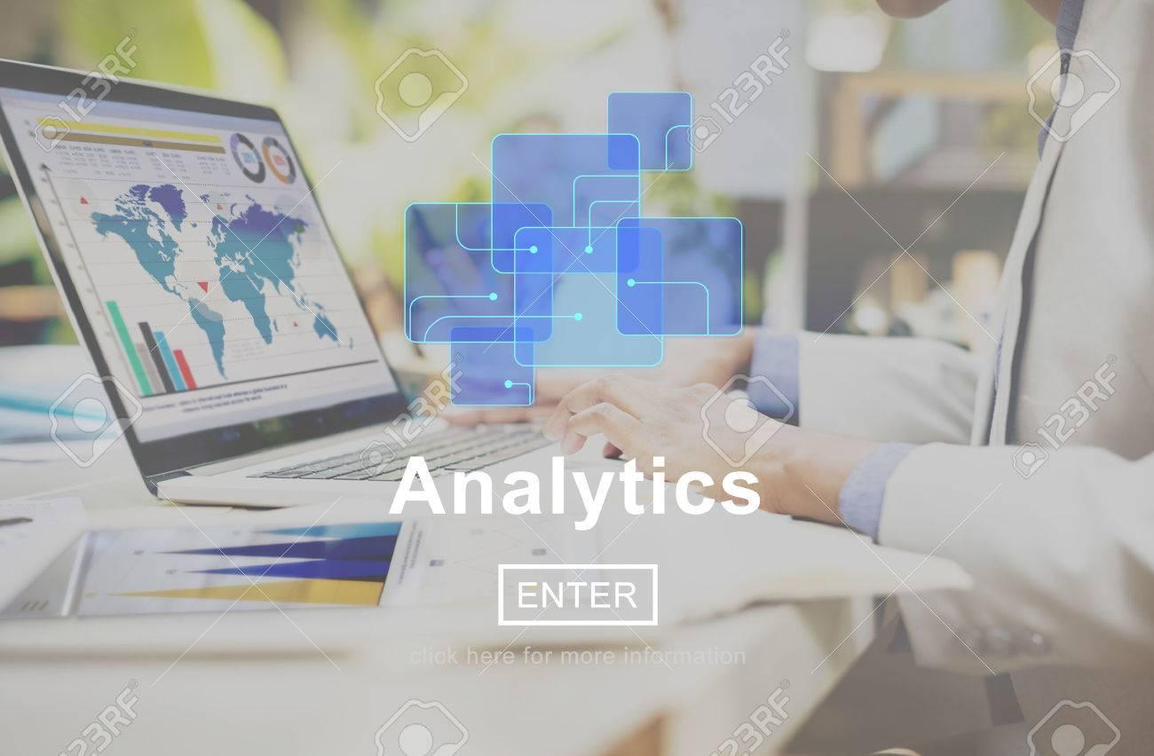 Analytics Data Analysis Information Internet Concept - 58739298