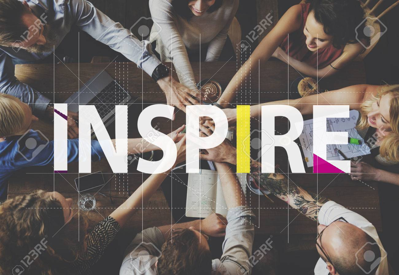 Inspire Ideas Creative People Graphic Concept Banque d'images - 59276157