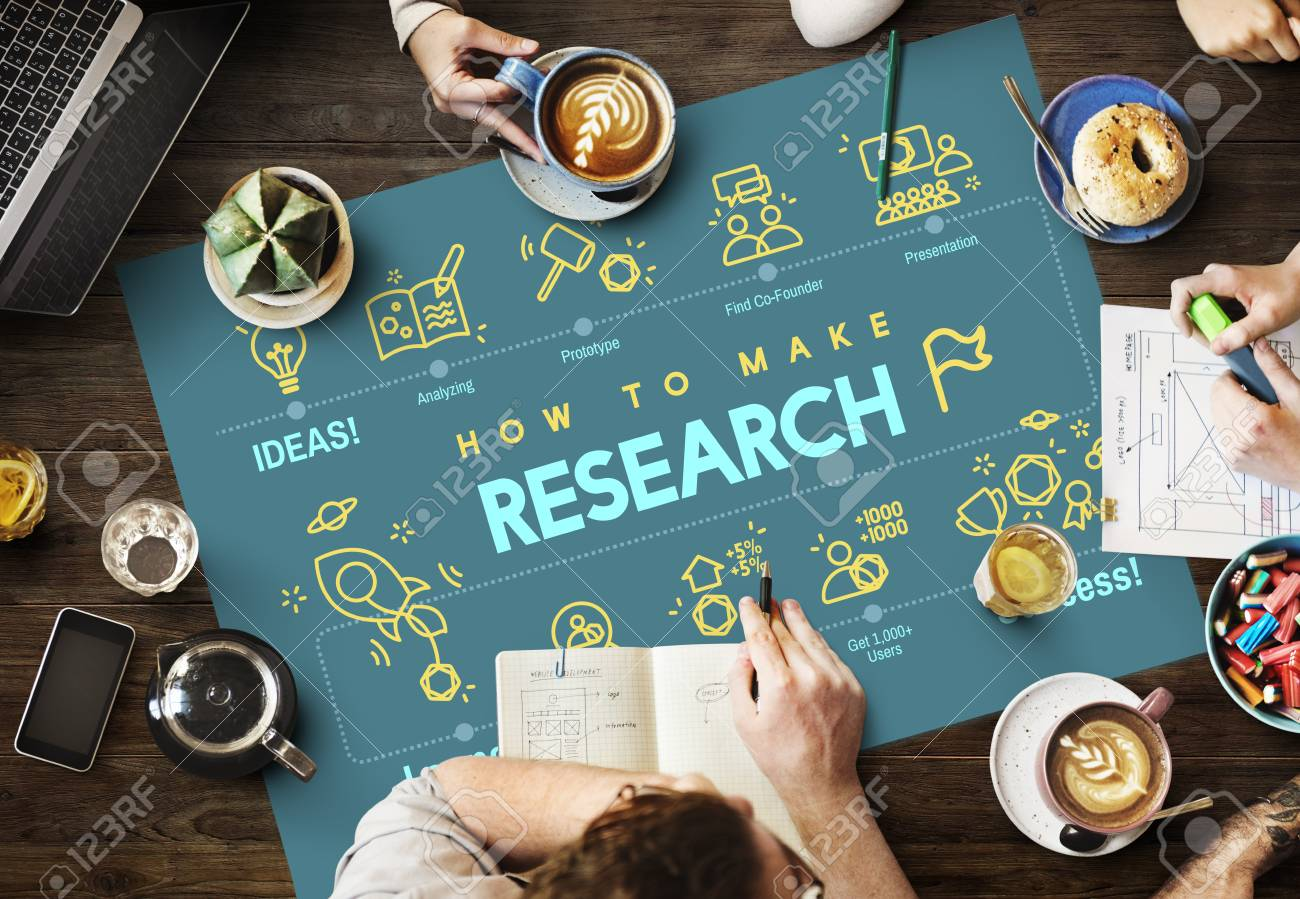 Research Discovery Exploration Feedback Report Concept Stock Photo -  59233356
