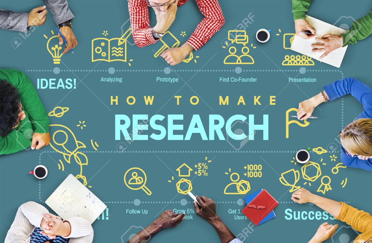 Research Discovery Exploration Feedback Report Concept Stock Photo -  59287054