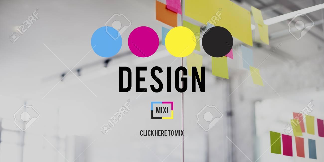 Design Graphic Creative Planning Purpose Draft Concept - 59365473