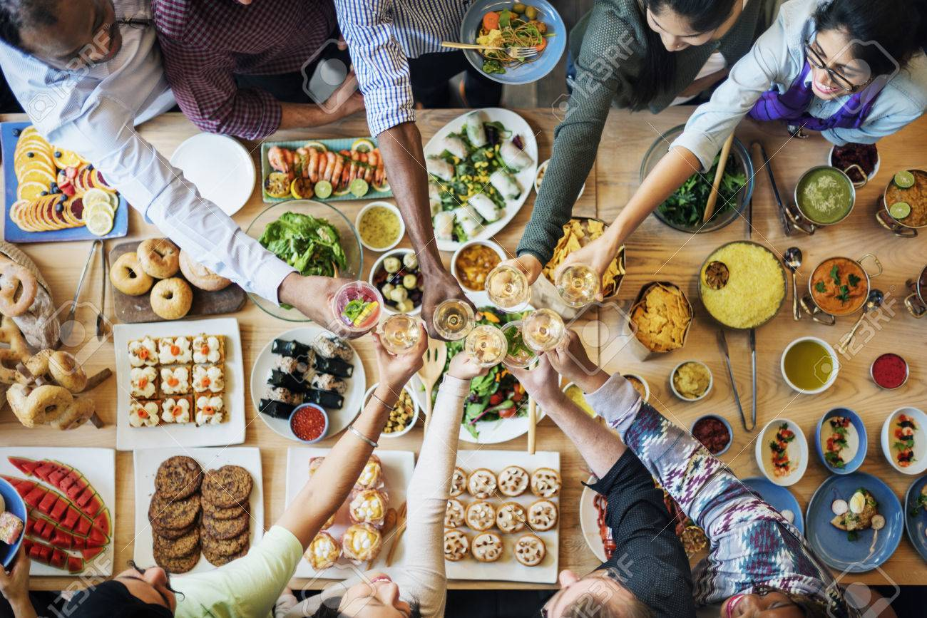 People Celebration Wine Toast Happiness Success Concept - 60622098