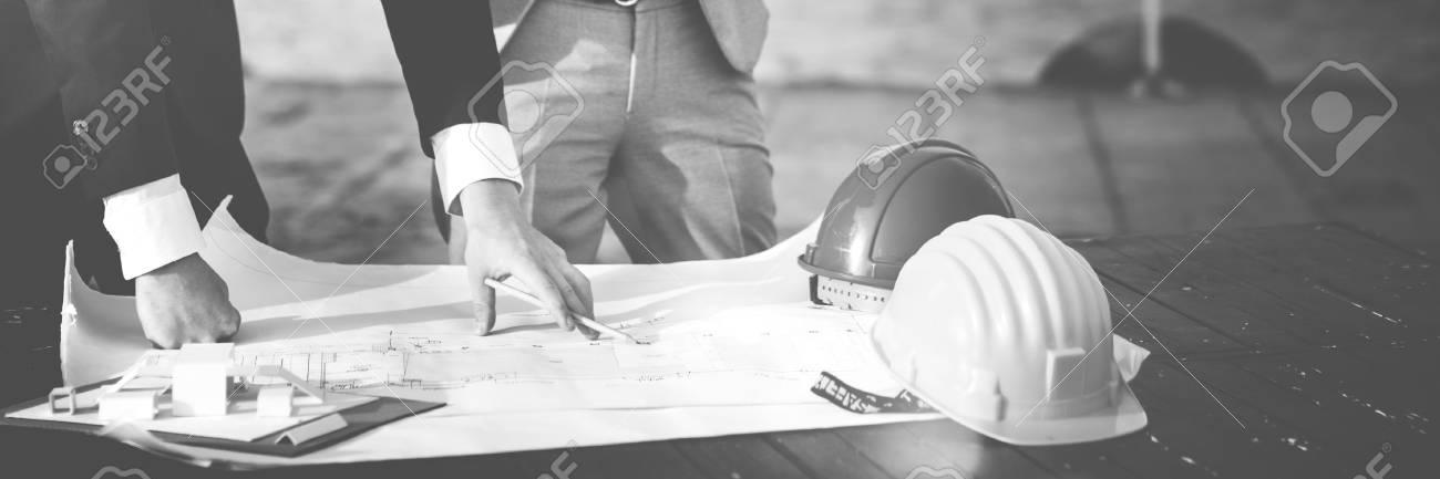 Developer Servey Planning Structure Construction Concept - 62129547