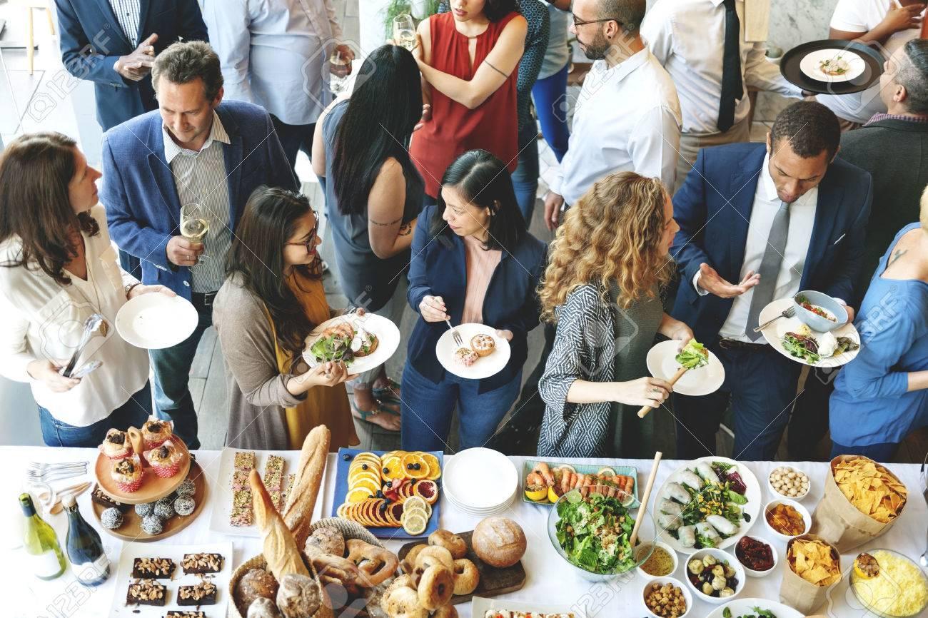Concept Traiteur Cuisine Gourmet Culinary Party Buffet Banque d'images - 62149739