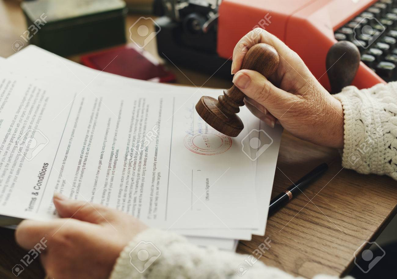 how are stamped signatures different from written signatures