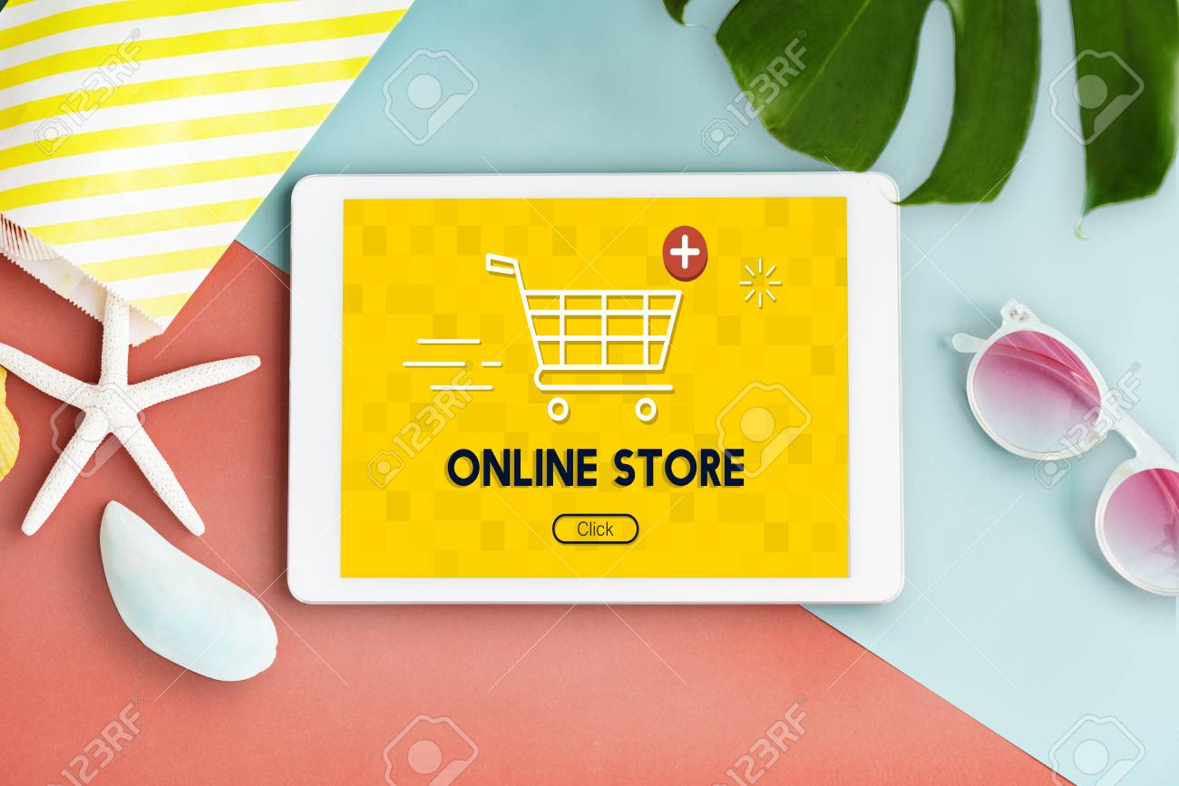 a76829f6d Add Cart Buy Now Online Commerce Graphic Concept Stock Photo ...