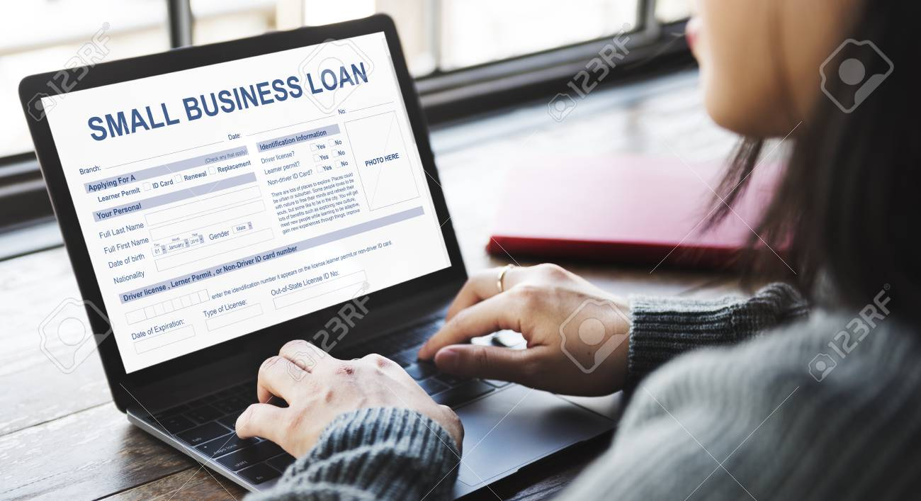 Estructura Financiera Formulario De Préstamo De Pequeña Empresa
