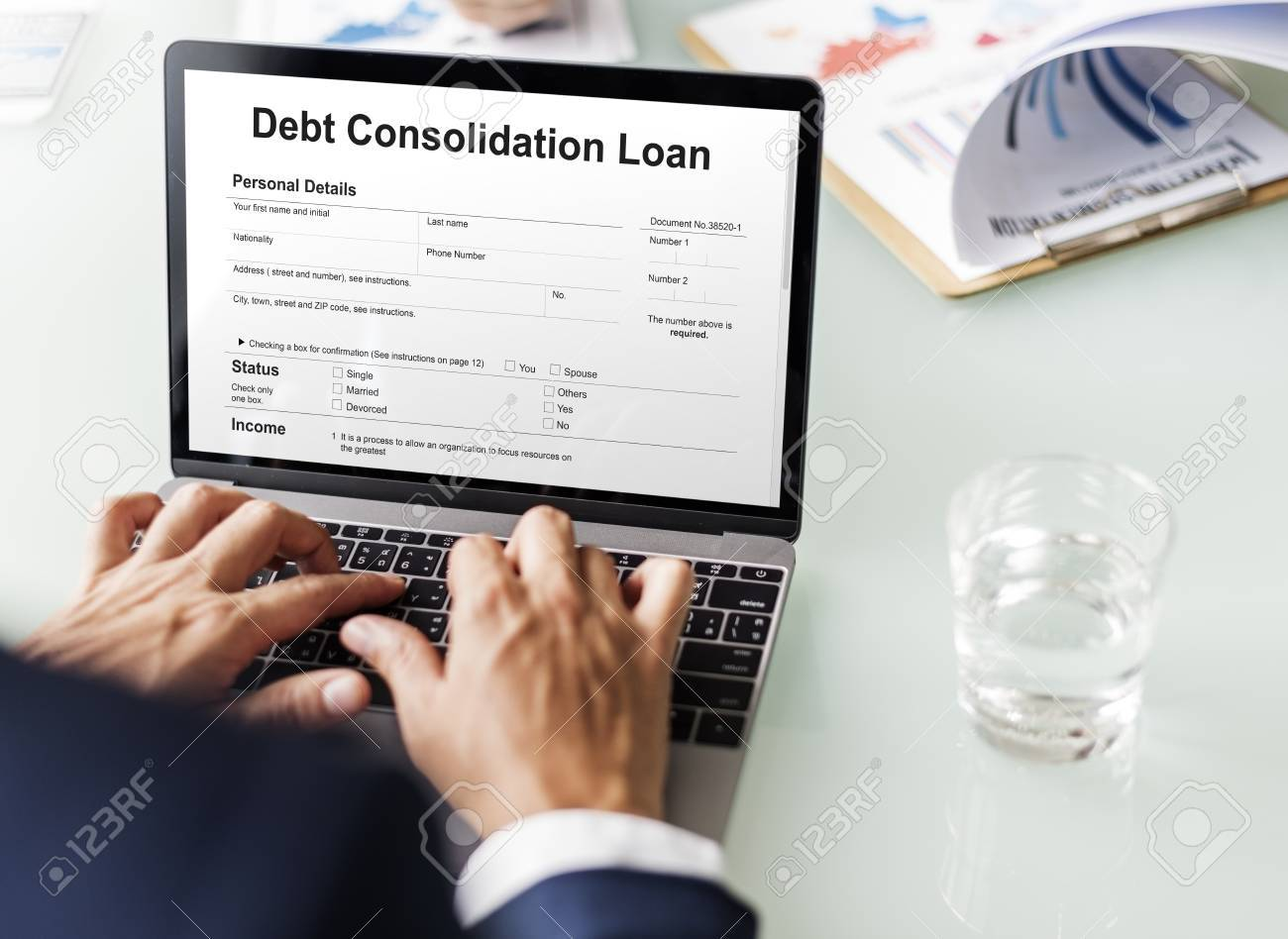 Préstamo De Consolidación De Deuda Estructura Financiera