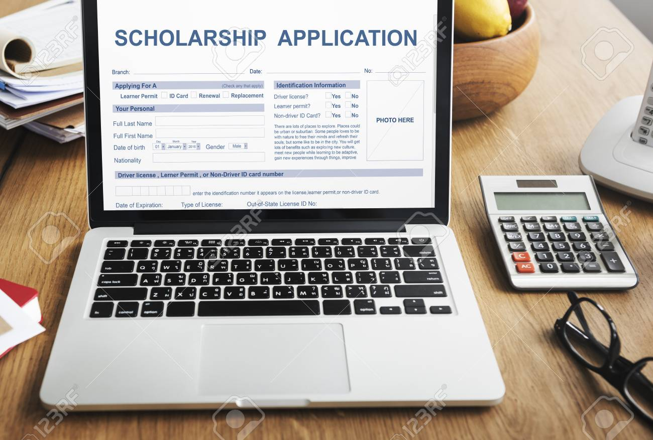 Scholarship Application Form Foundation Concept Stock Photo Picture And Royalty Free Image Image 66009262