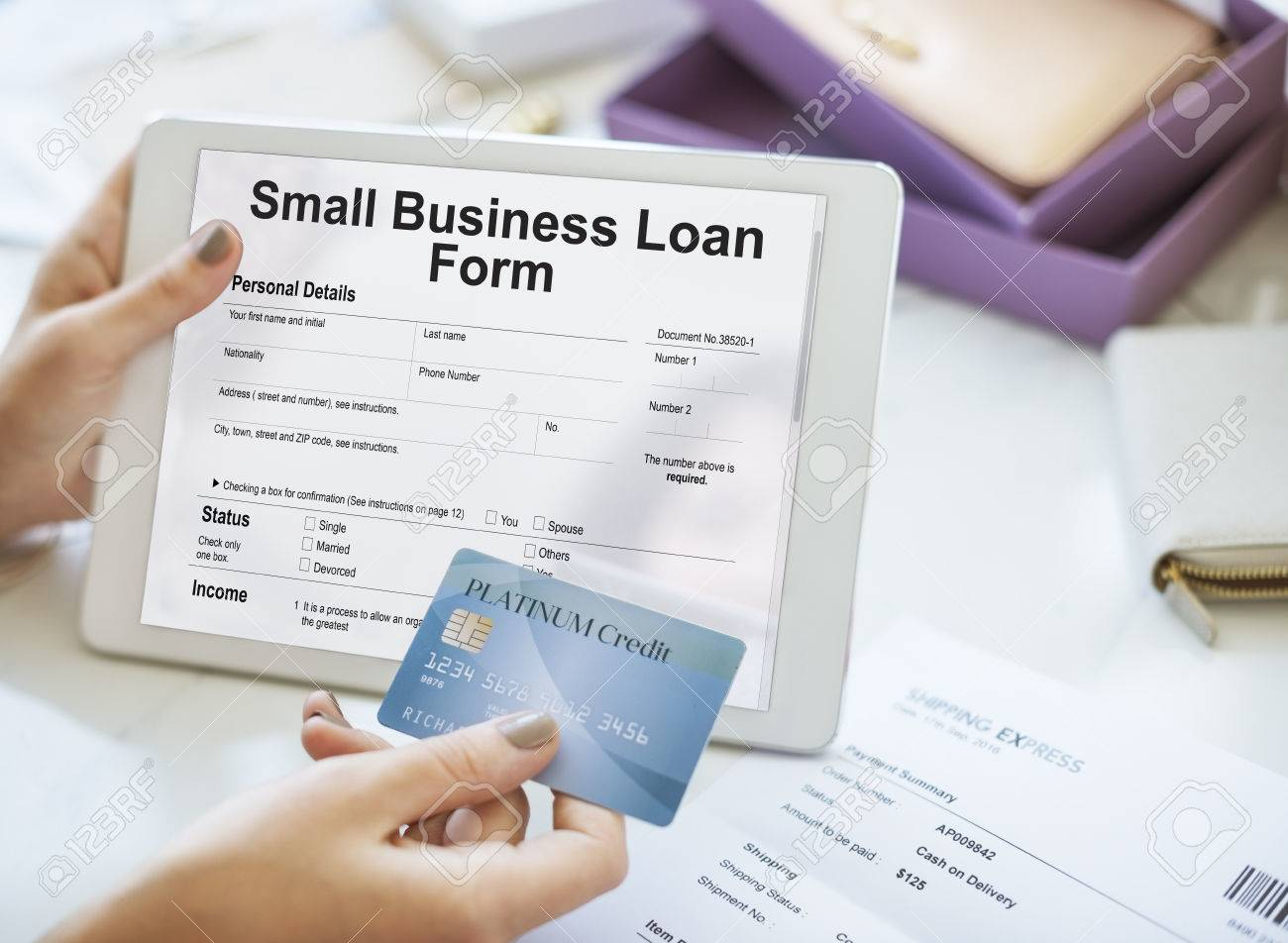 small business loan form ownership concept stock photo picture small business loan form ownership concept stock photo 66531785