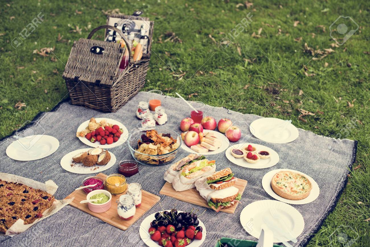A picnic lunch