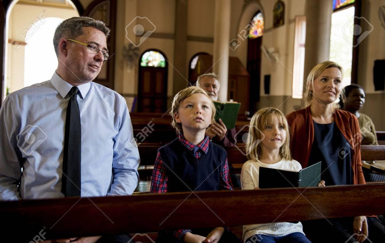 Church People Believe Faith Religious Standard-Bild - 71517669