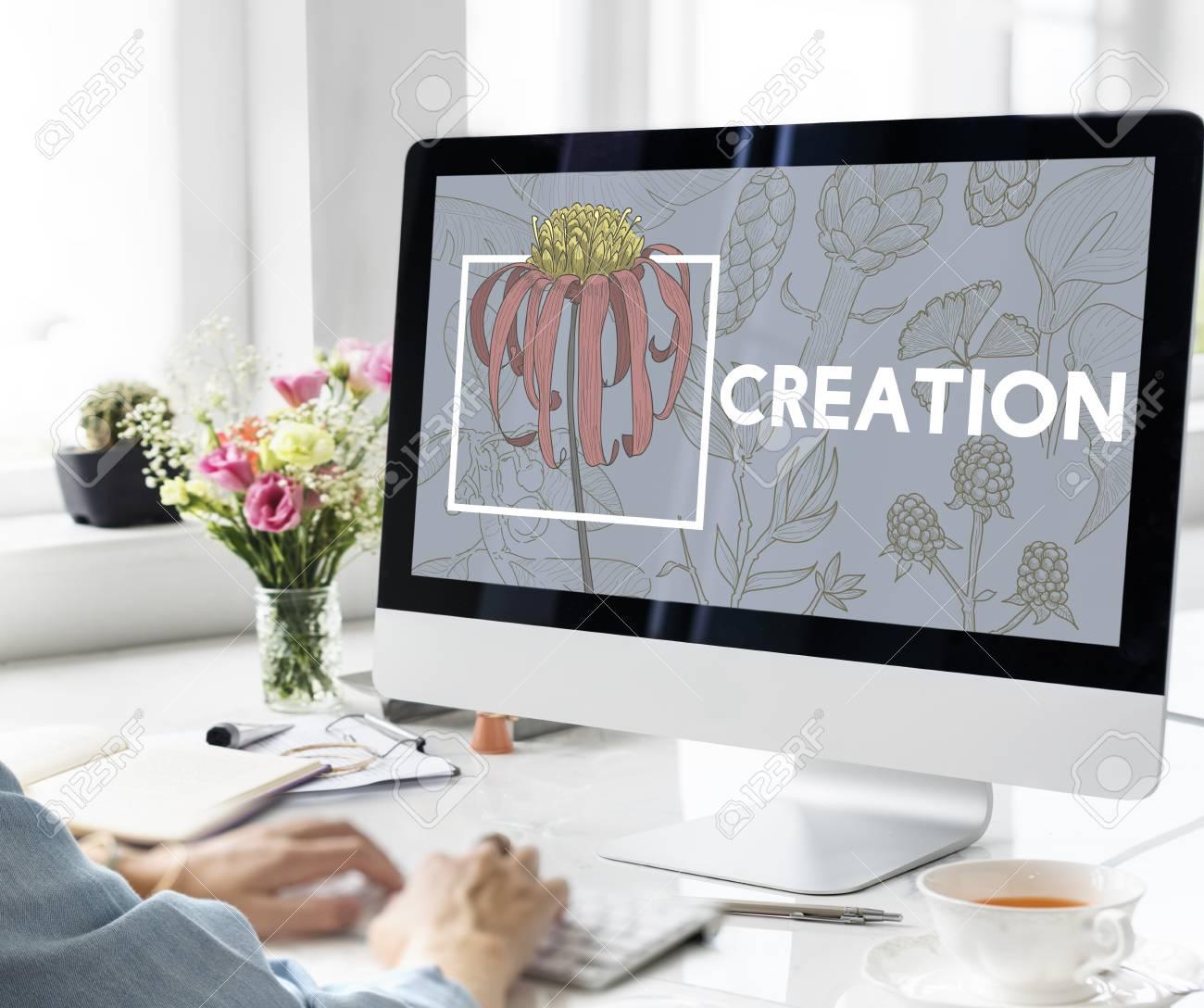 Design Creation Leisure Hobby Ideas Objective Stock Photo - 75097261