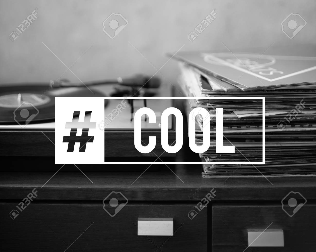 Hashtag awesome fabulous cool word stock photo 76660801