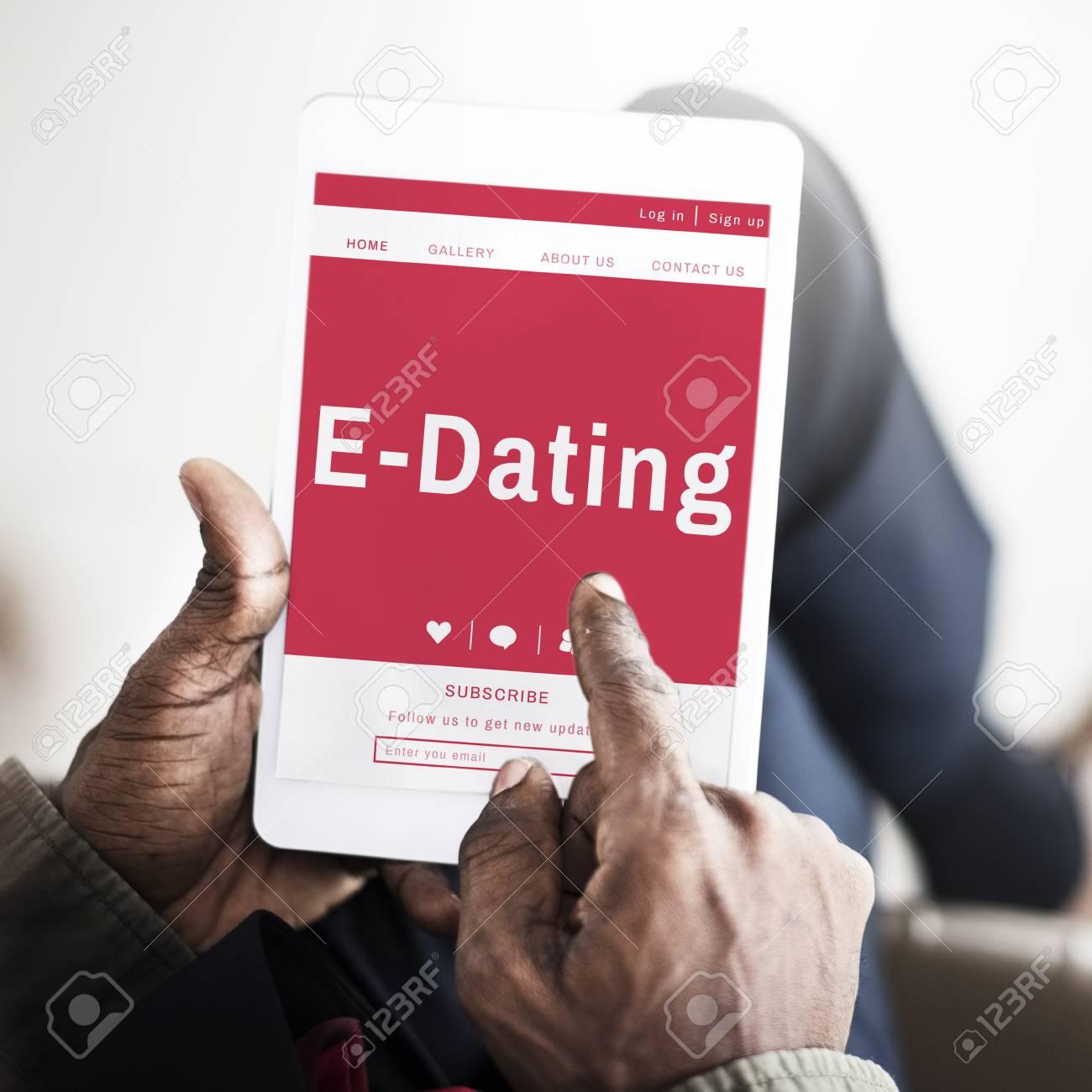 e dating login
