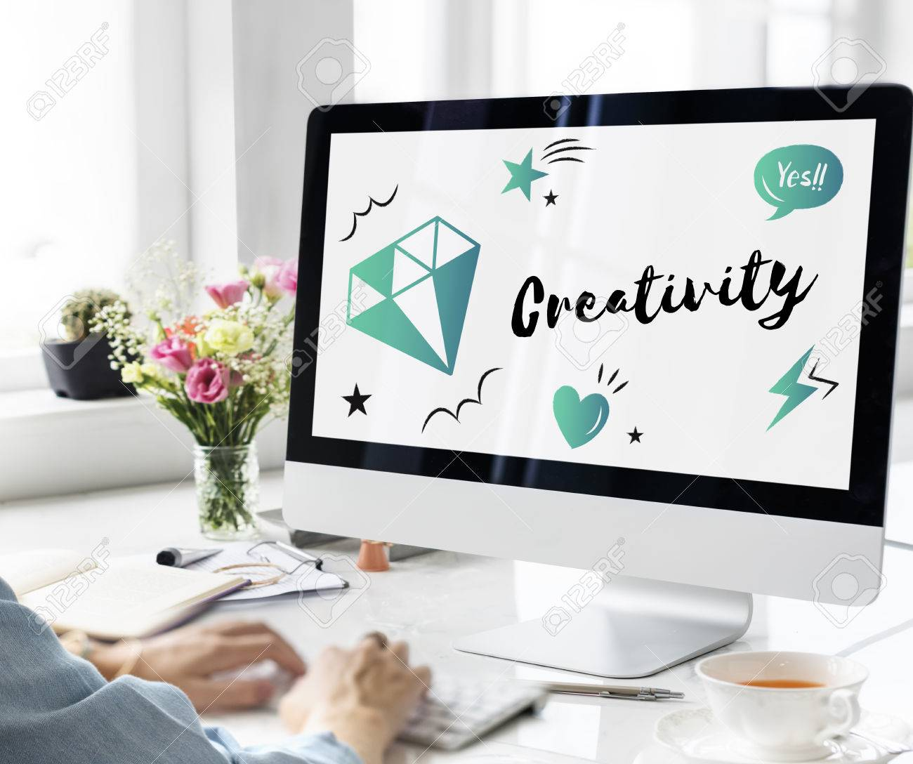 Fresh Ideas Design Creativity Concept Stock Photo - 78254452