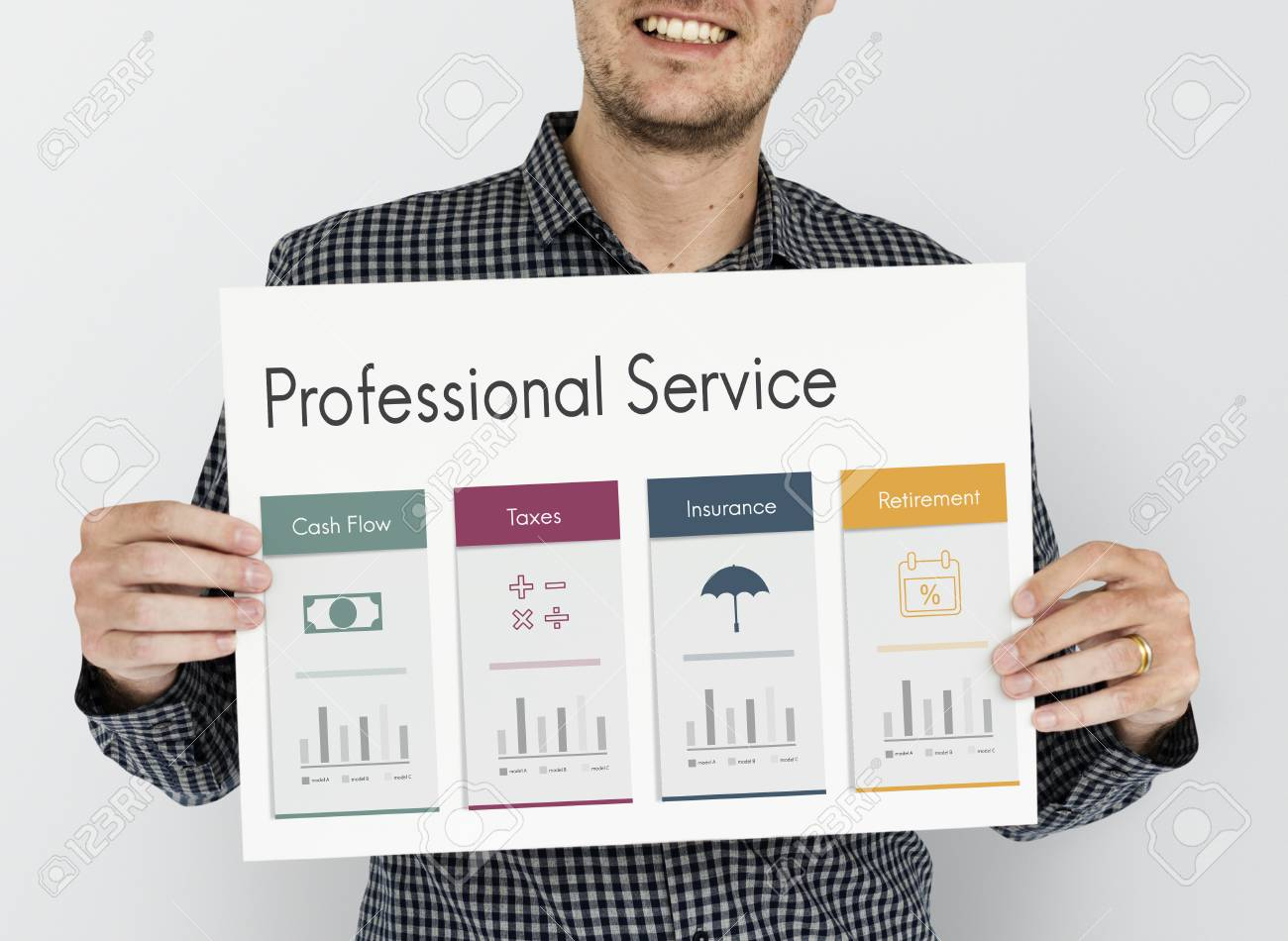 financial planning retirement service stock photo picture and