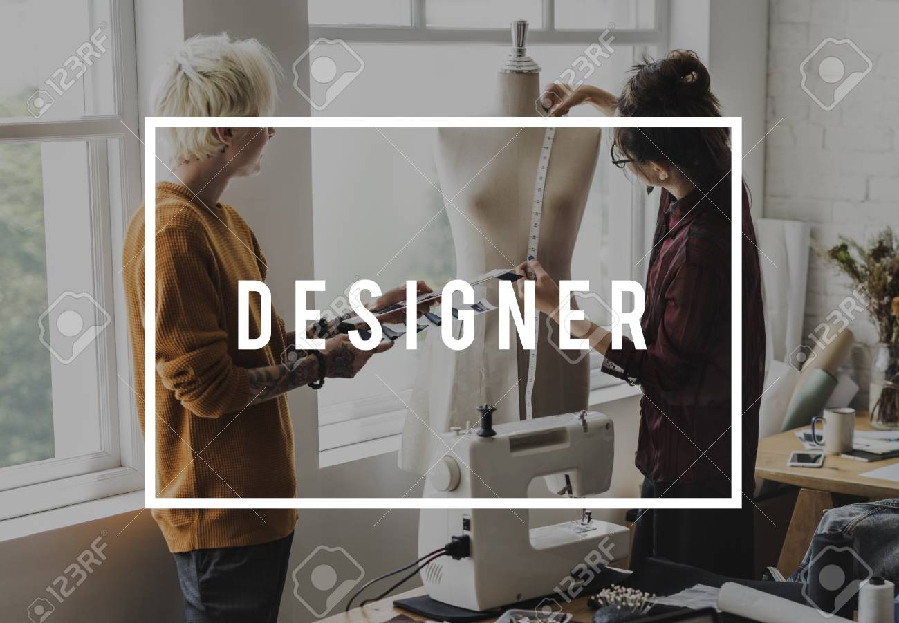 Fashion Designer Create Your Own Style Fashionista Stock Photo Picture And Royalty Free Image Image 80865255