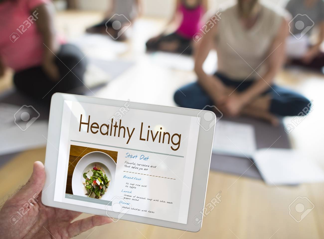 Diet plan for healthy life - Wellness Diet Plan Healthy Living Icon Stock Photo 81391255