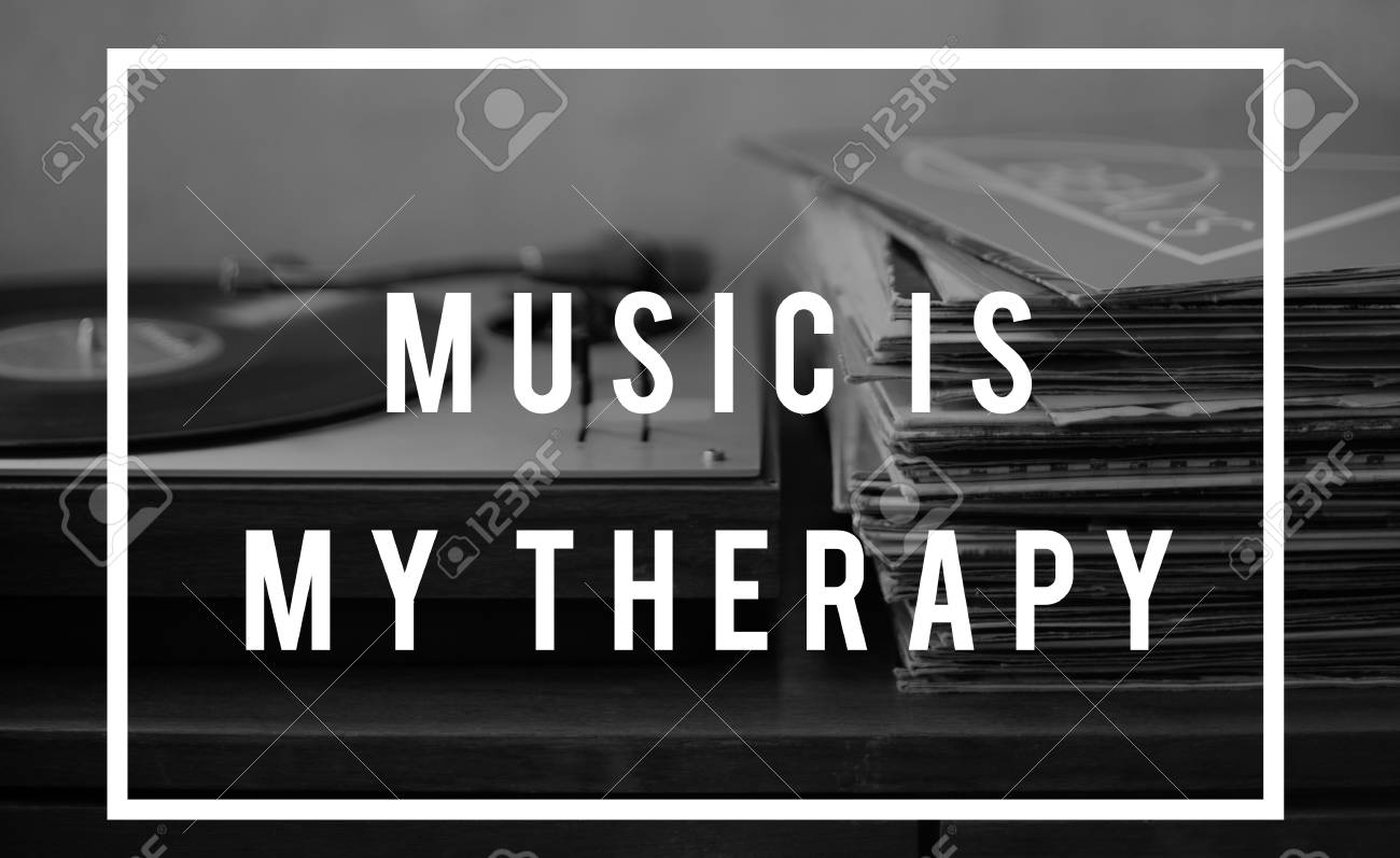 Music Is Life Therapy Harmony Word Stock Photo Picture And Royalty Free Image Image 82261518