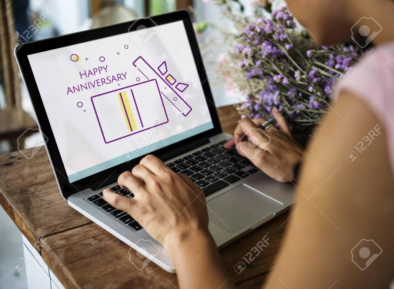 happy anniversary laptop