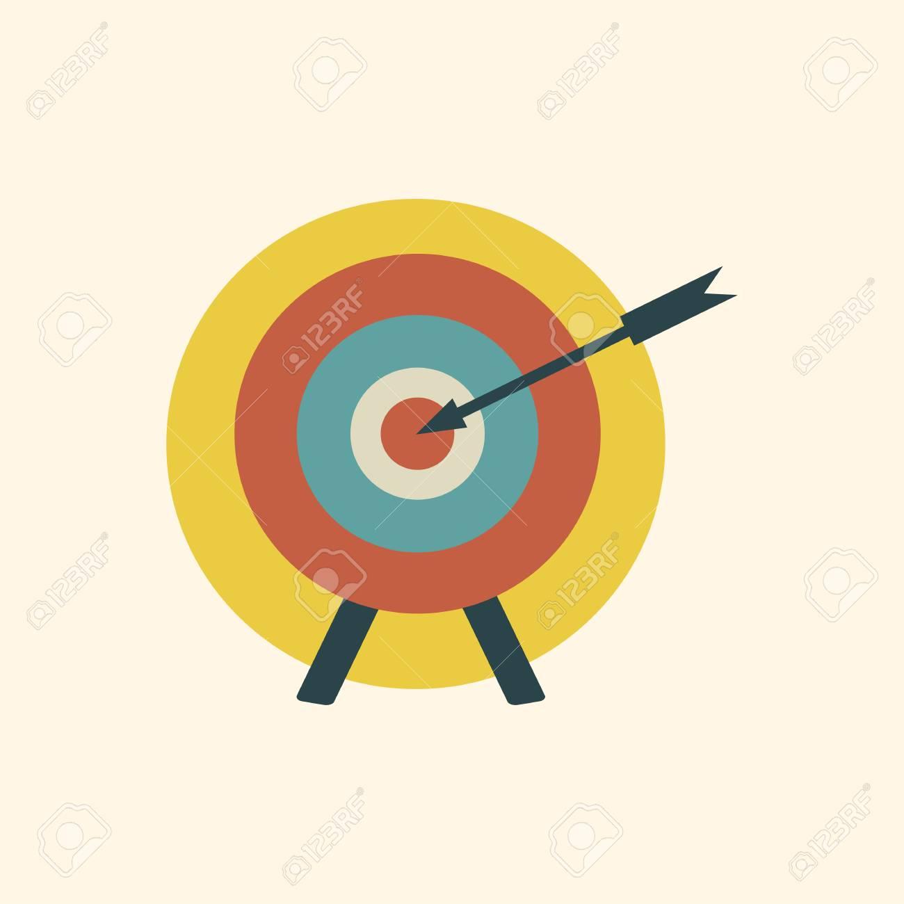 Arrow on target - 86964350