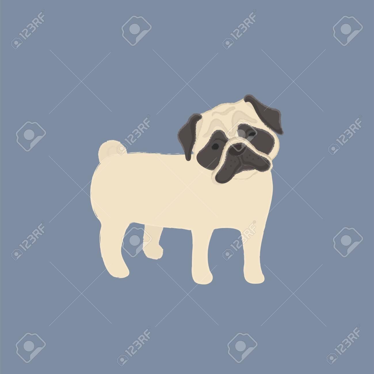 Illustration of a dog - 115728467