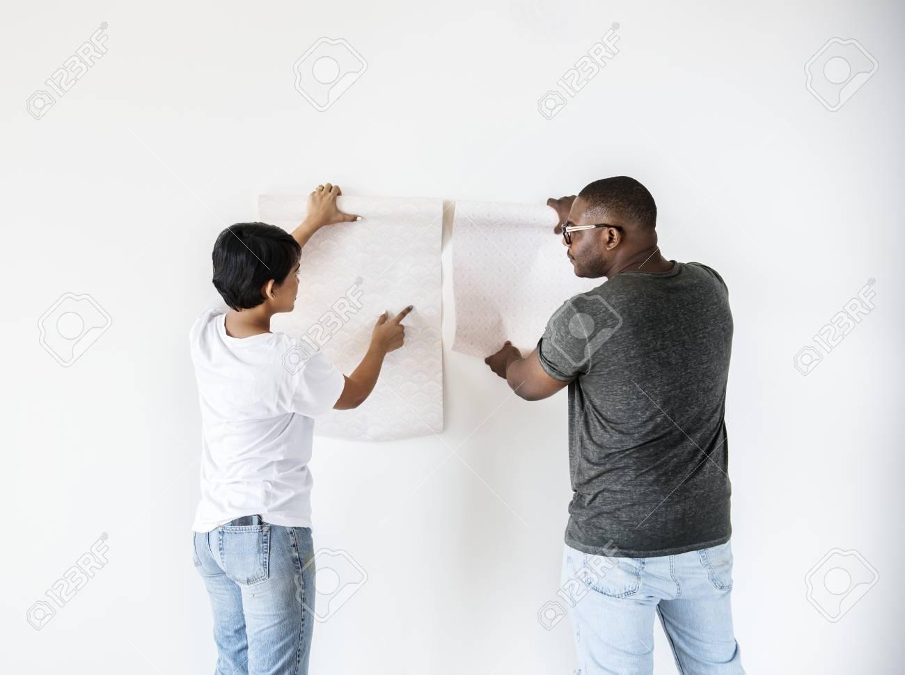 Choosing a wallpaper 4