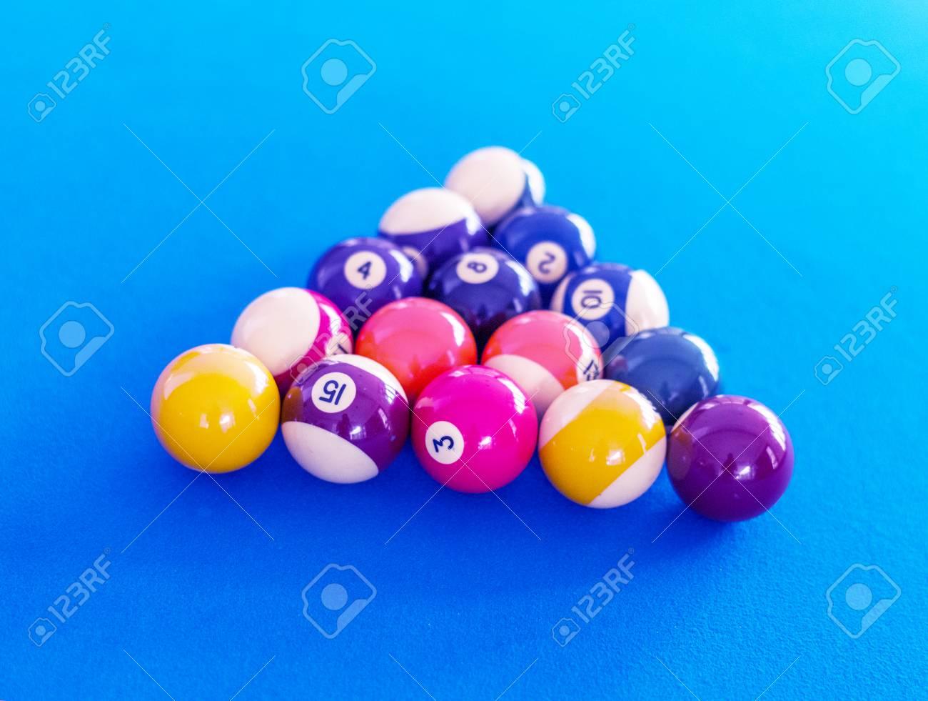 Images For Pool Table Setup >> Billard Balls Setup On A Pool Table