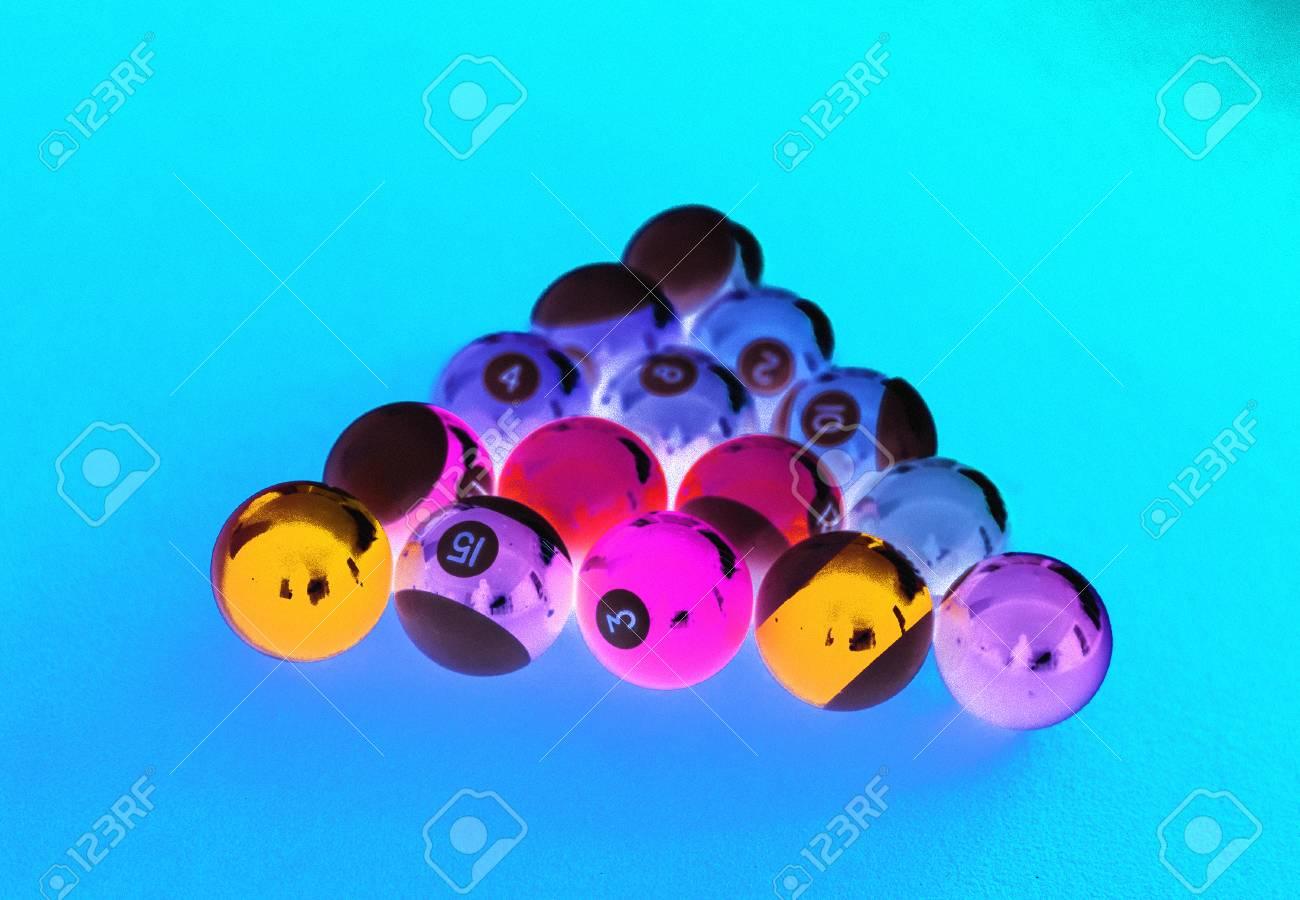 Pool Table Setup >> Billard Balls Setup On A Pool Table