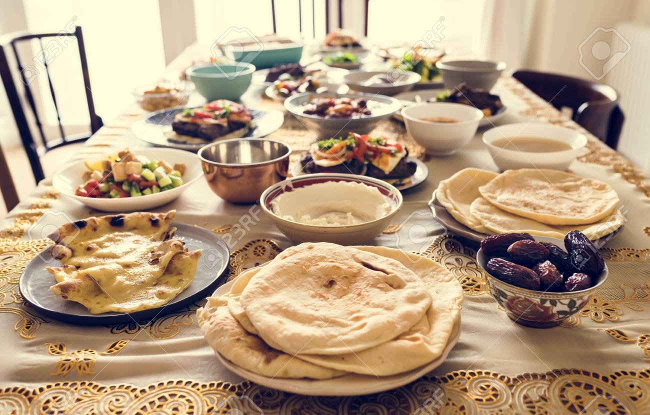 Delicious Food For A Ramadan Feast Stock Photo, Picture And Royalty Free  Image. Image 104737073.