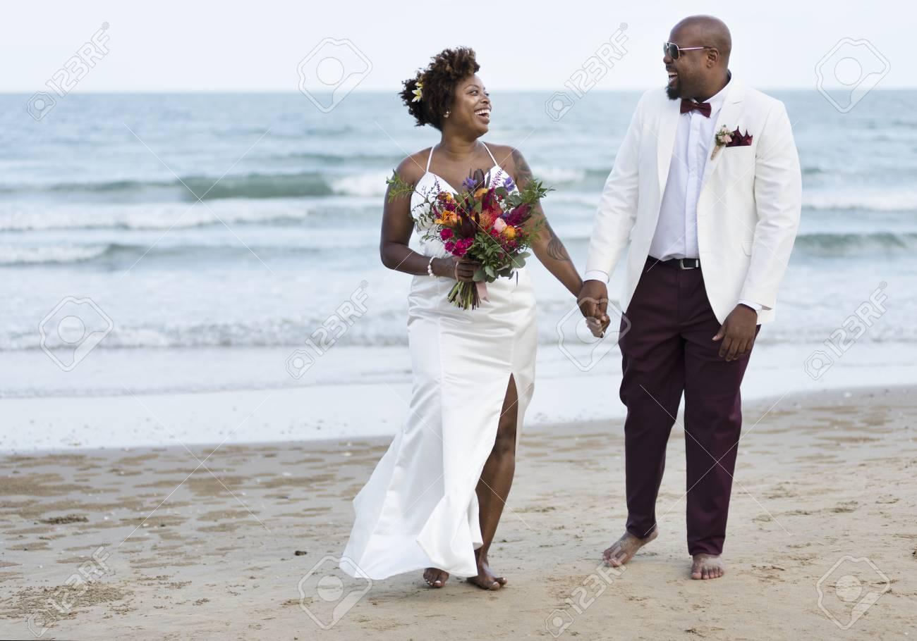 African American Wedding.African American Couple S Wedding Day