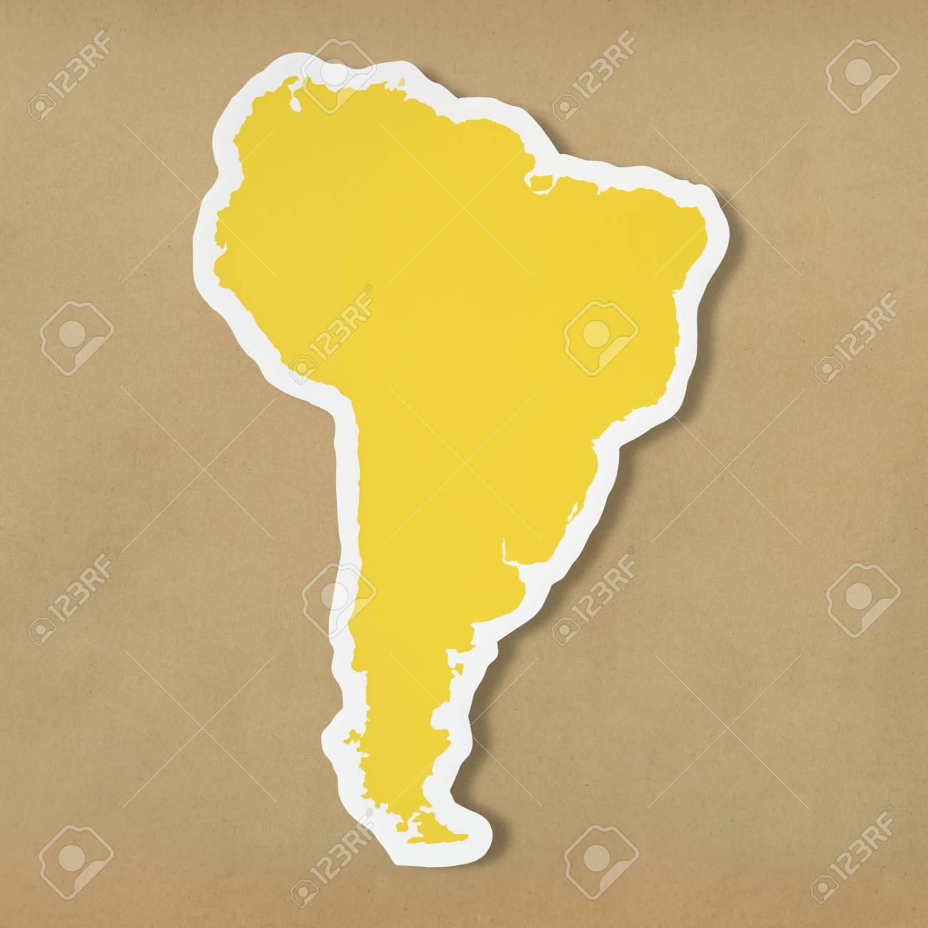 Blank Map Of South America Lizenzfreie Fotos, Bilder Und Stock ...