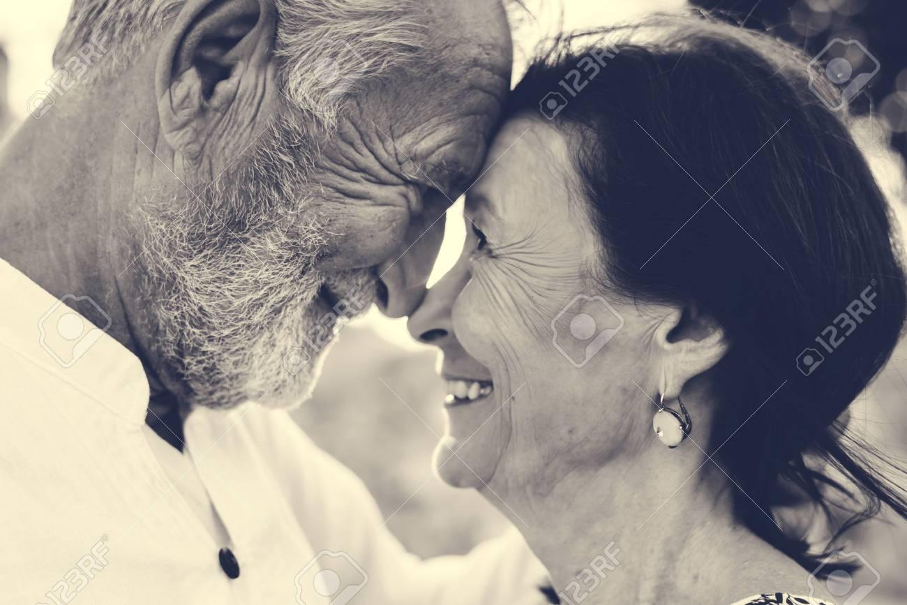 Mature couple still in love - 110522654