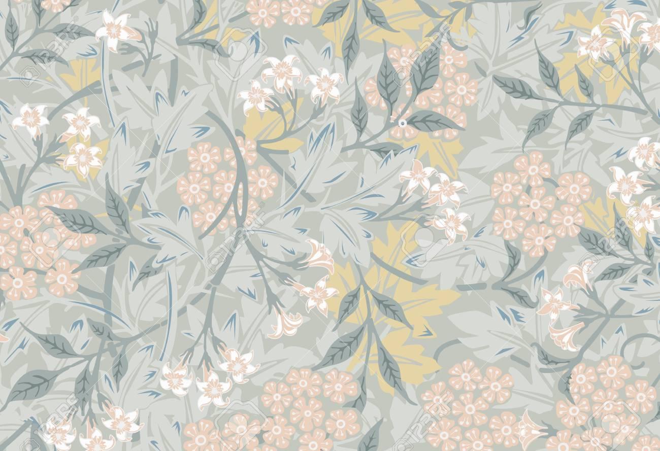 Jasmine by William Morris (1834-1896). Original from The MET Museum. Digitally enhanced by rawpixel. - 126248858