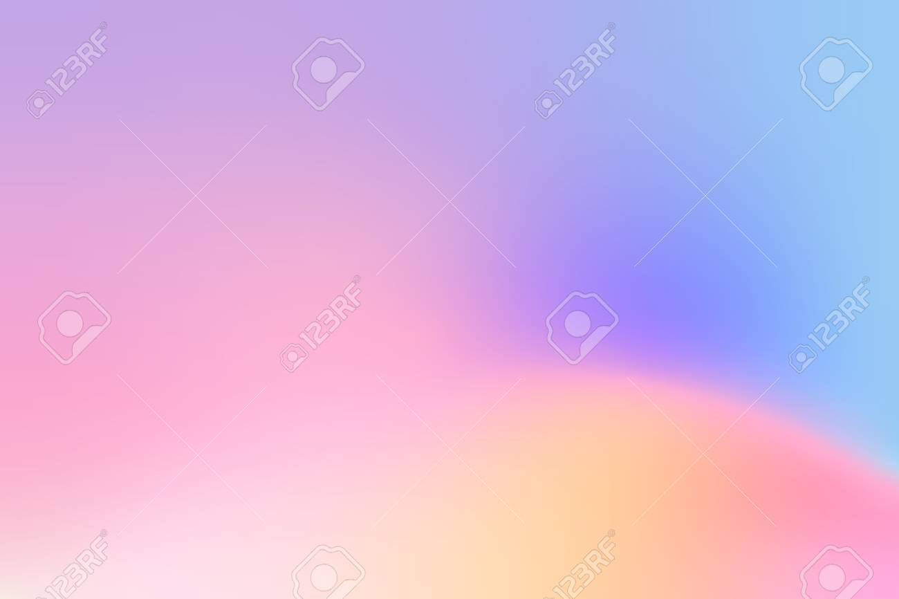 Colorful holographic gradient background design - 126248883