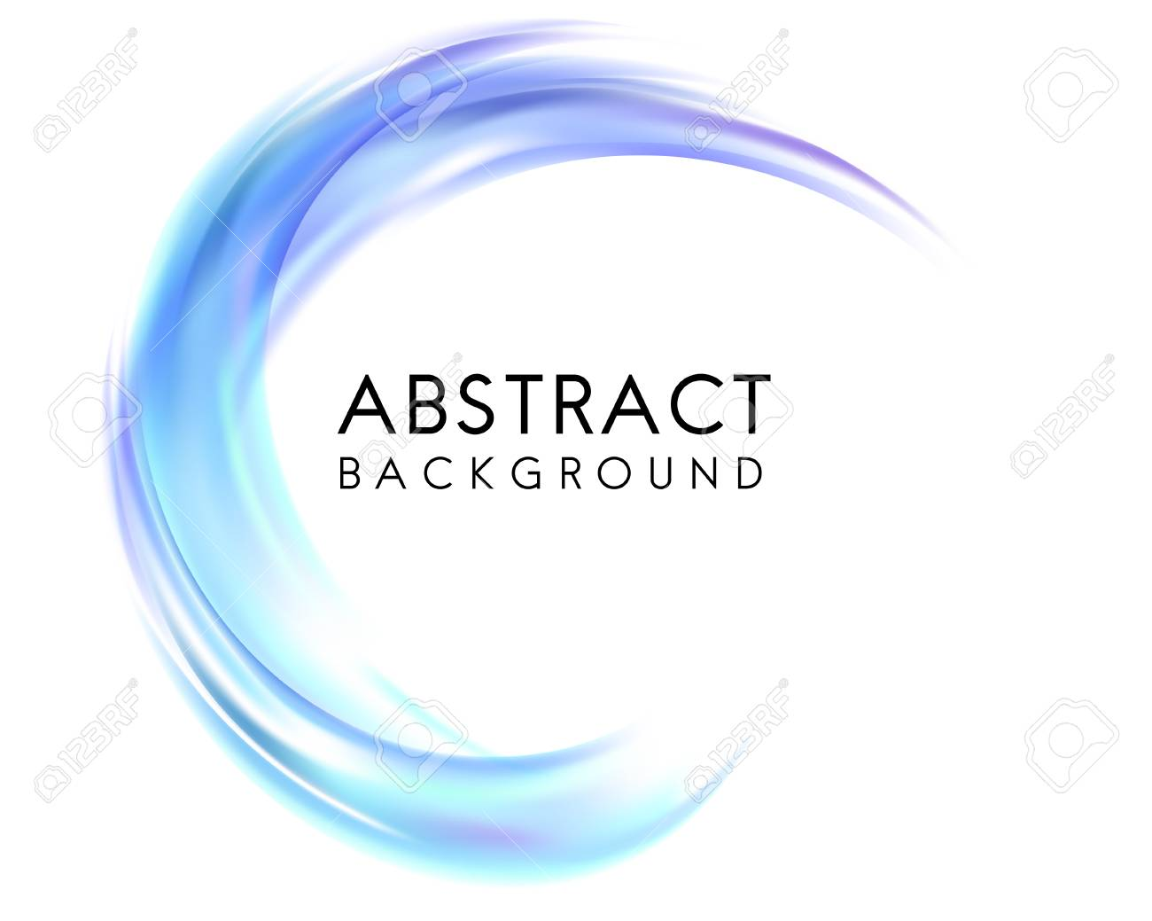 Abstract background design in blue - 115280301