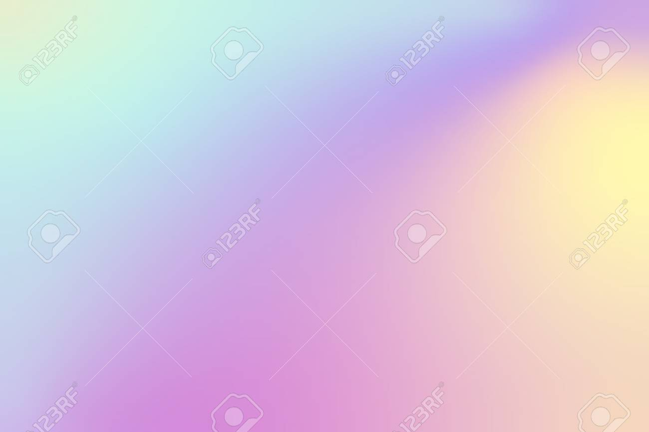 Colorful holographic gradient background design - 125970822