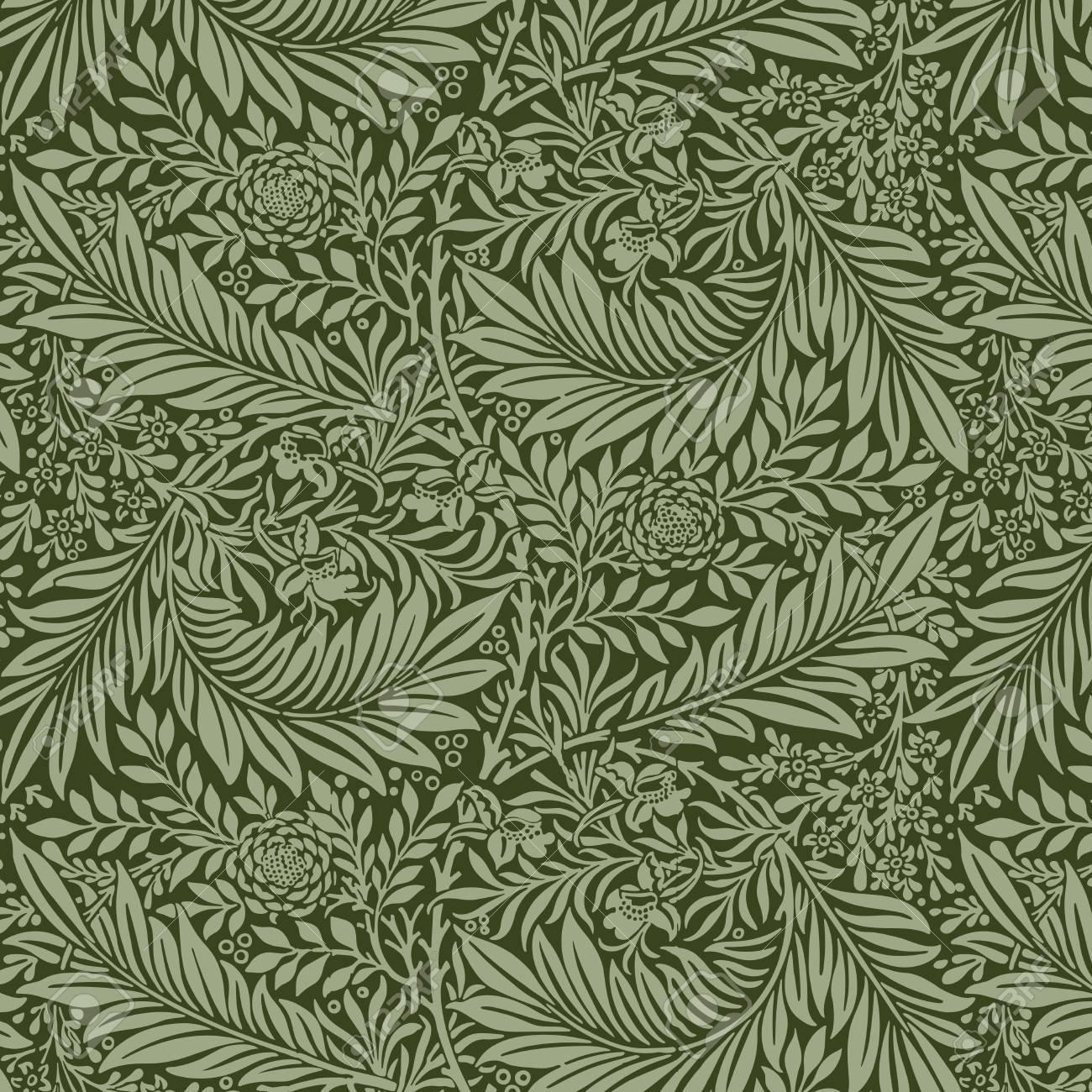 Larkspur by William Morris (1834-1896). Original from The MET Museum. Digitally enhanced by rawpixel. - 125970917