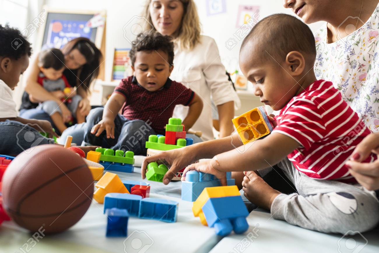Image result for diverse kids playing toys