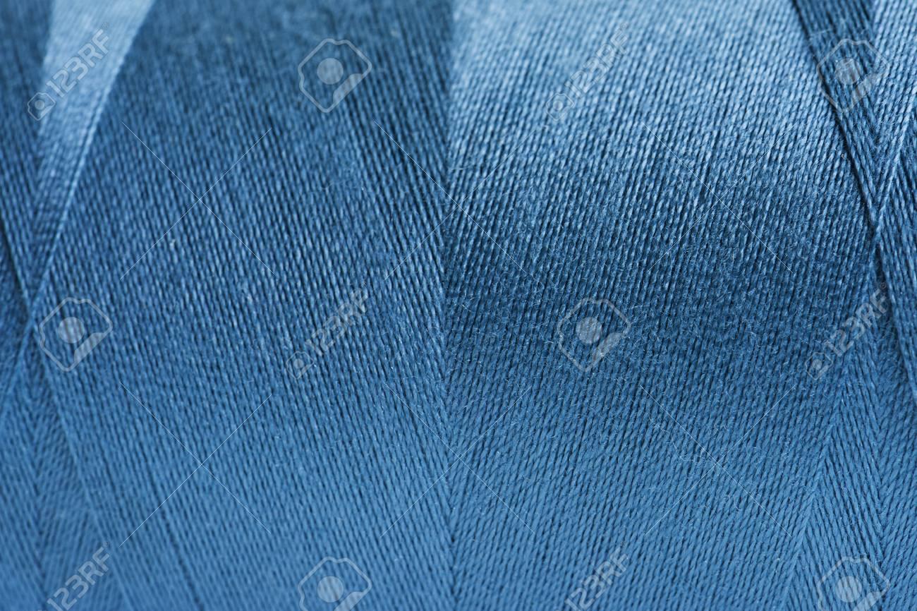 Rolled wool yarn fabric background - 118568413