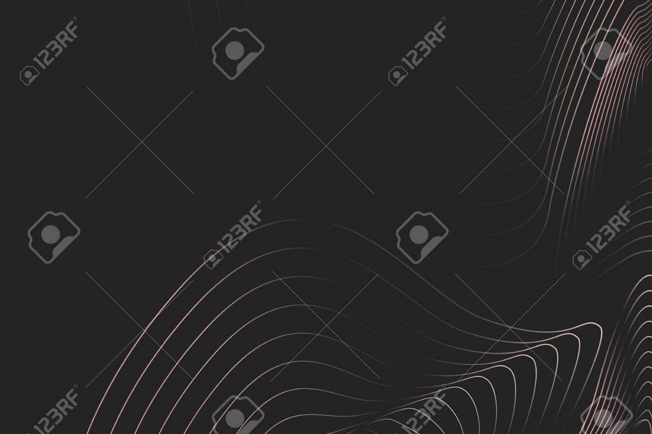 Topographic contour lines background vector - 122903510