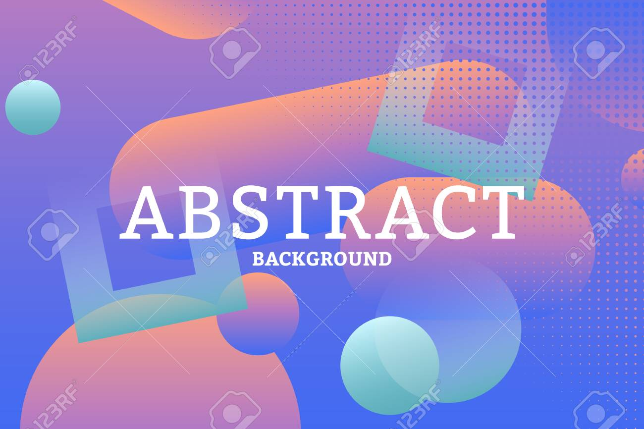 Colorful geometric abstract patterned background vector illustration - 121951779