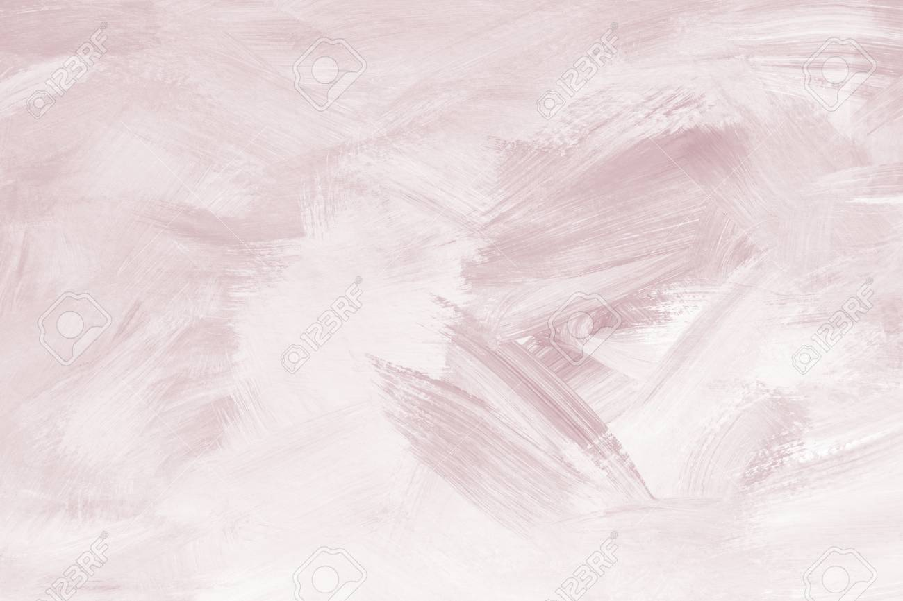 Pastel red paint brush textured background - 123592023