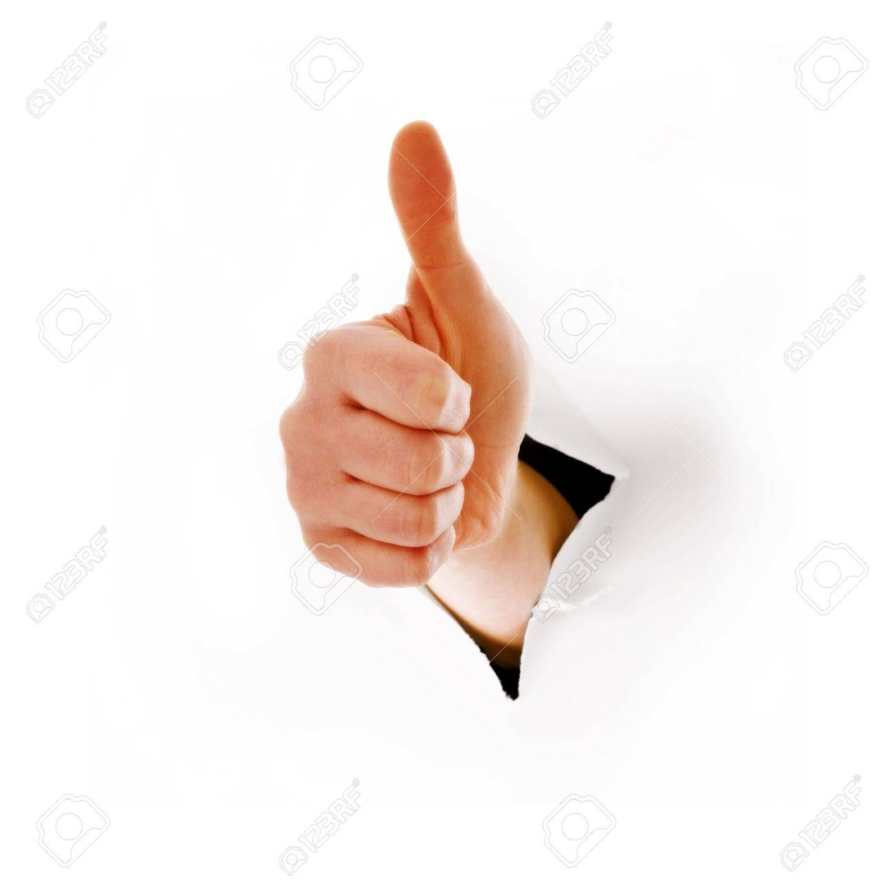 hand with a thumbs up Stock Photo - 6659405